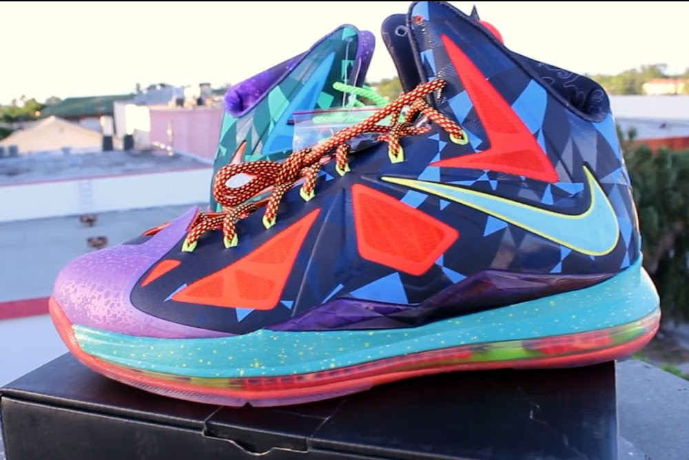 "NIKE LEBRON – LeBron James Shoes » NIKE LEBRON X ""What the ... Lebron 10 What The Mvp"