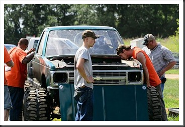 Mud Bog Tech Inspection