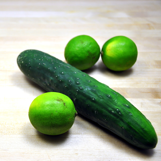 Limes and Cucumber
