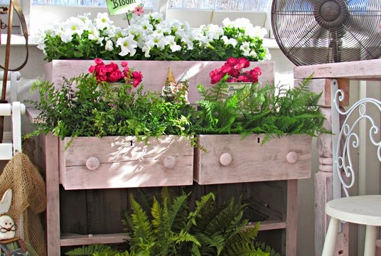 repurposed drawers