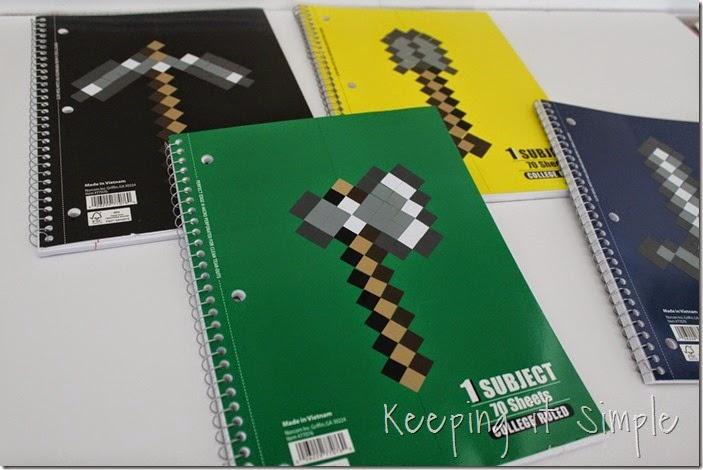 Minecraft Notebooks (11)