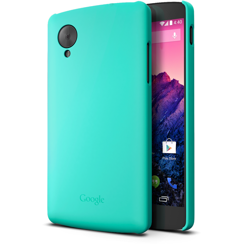 nexus 5 snap case aqua sleek protection for your nexus 5 a lightweight ...
