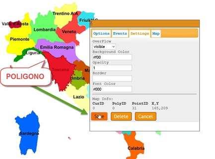 Cartina Italia Cliccabile Html.Creare Una Mappa In Una Immagine Per Aggiungere Piu Link Ipcei