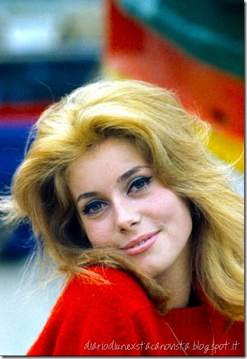 catherine deneuve cat eye