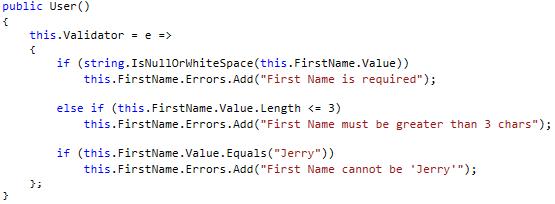 Jerry Nixon on Windows: Let's Code! Handling validation in
