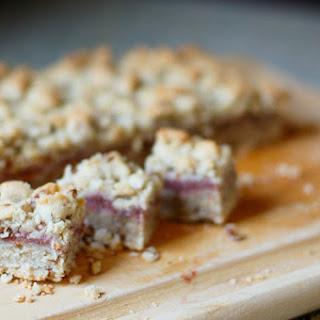 Rhubarb Crumb Cookies.