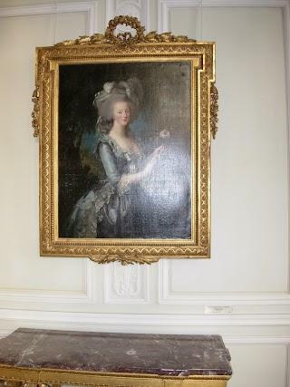 Marie-Antoinette de Vigee Lebrun au Château de Versailles
