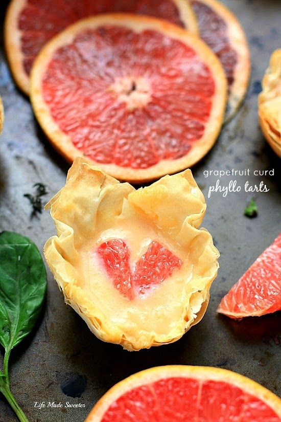 Grapefruit Curd Phyllo Tarts by @LifeMadeSweeter.jpg