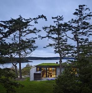 cubierta Casa la Pierre Olson Kundig Architects