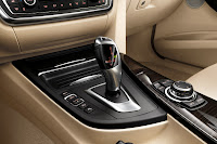New BMW 3 Series: Automatic transmission selector lever (10/2011)