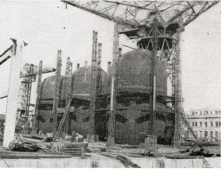 Los tanques del TAMAMES. Foto Ingenieria Naval. Septiembre de 1965.jpg