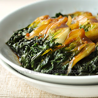 Braised Bok Choy, a Simple Shanghainese Dish Recipe
