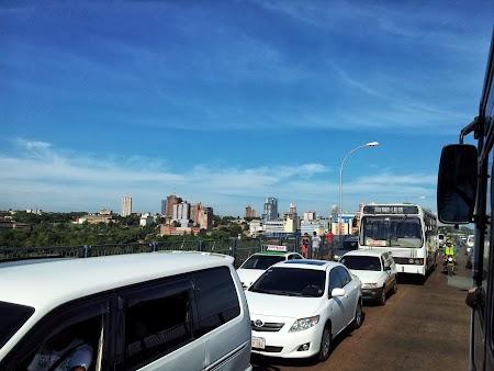 Podul Prieteniei dintre Brazilia si Paraguay