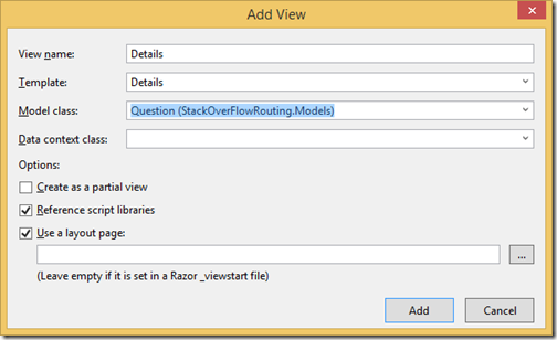 DetailsView-action-result-stackoverflw-routing