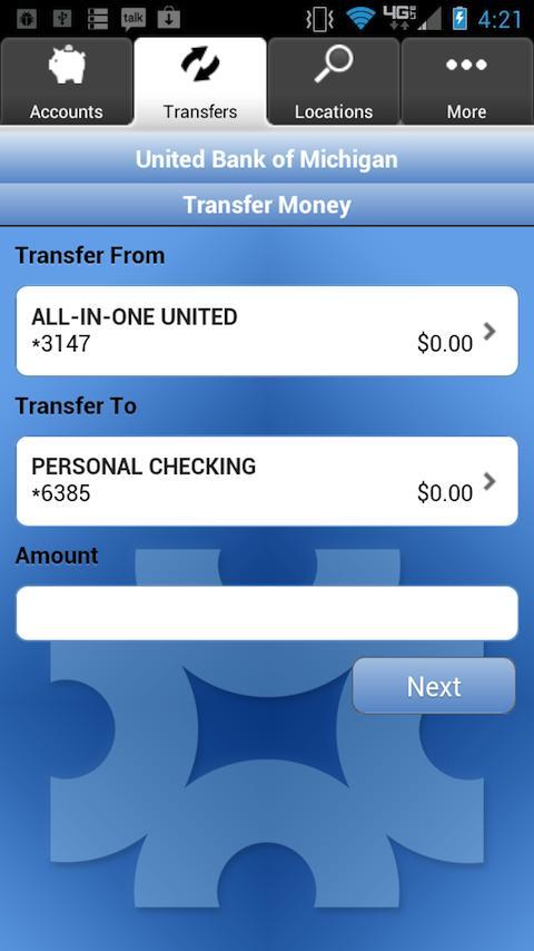 United Bank Mobile Banking- screenshot