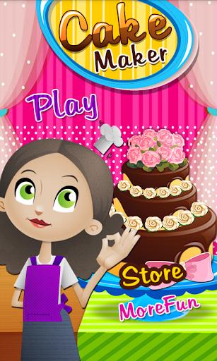 ケーキ メーカー-料理ゲーム