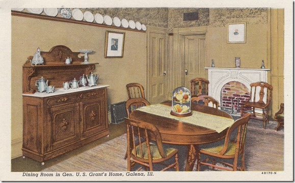 Dining Room, General U.S. Grant Home - Galena, Illinois pg. 1
