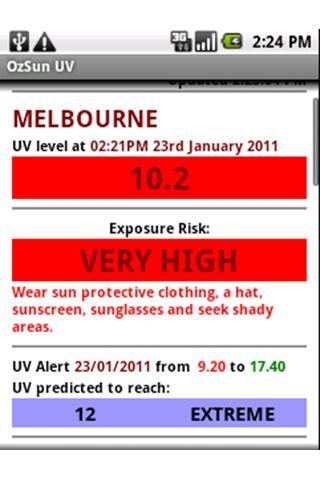 OzSun UV- screenshot