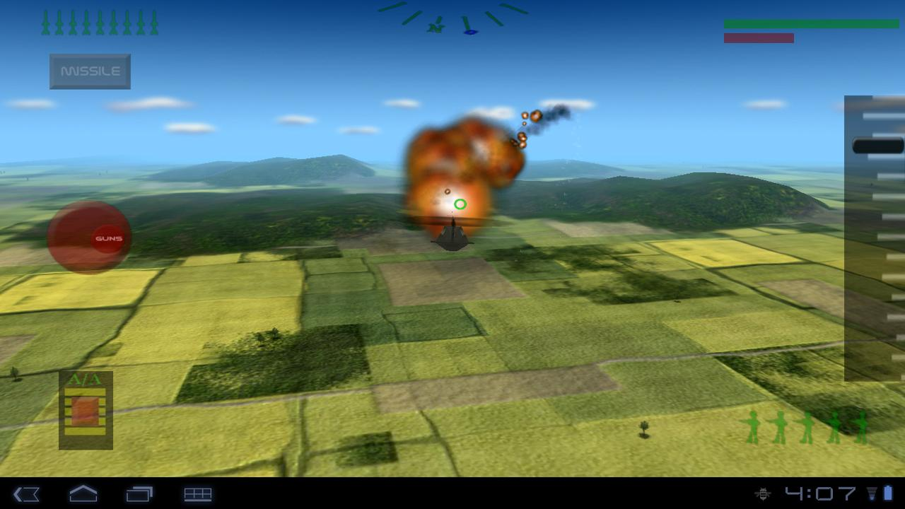 ★ Stealth Chopper Demo 3D ★ - screenshot