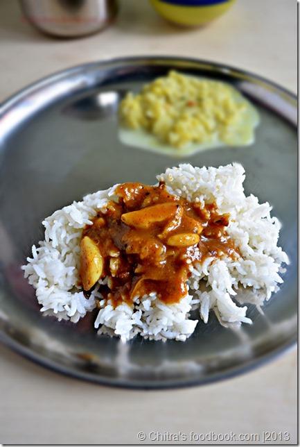 garlic puli kulambu recipe