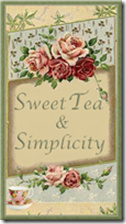 Sweet Tea and Simplicity Button