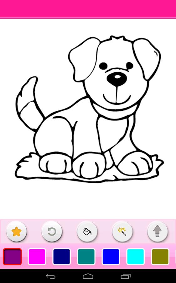 coloring book screenshot