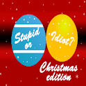 Stupid or Idiot – Christmas logo