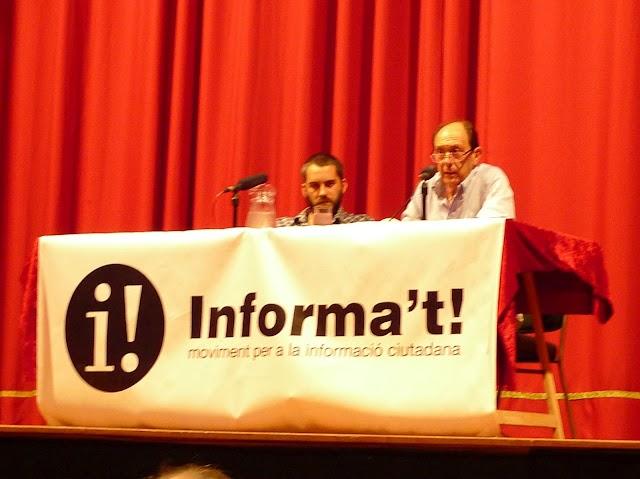 """Pepe Ribas al Cercle de #Gràcia: """"En l'era de la informació la desinformació és absoluta"""""""