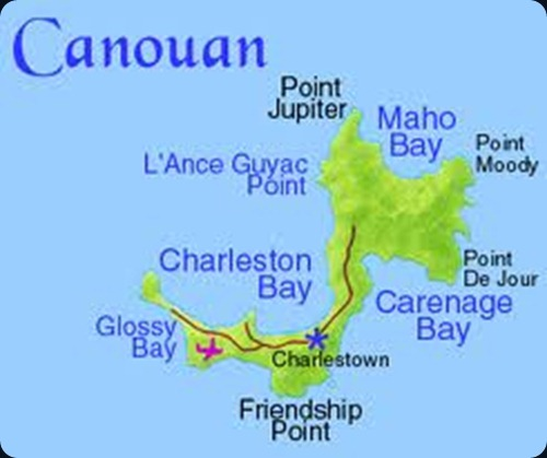 canoaun map