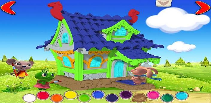 Скачать игру для детей Терем-Теремок на Android