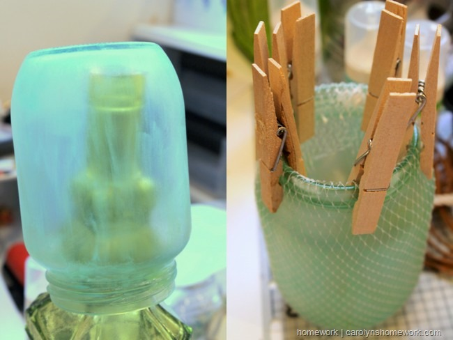 DIY Faux Sea Glass via homework | carolynshomework.com