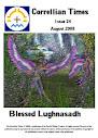 Edição 24 de agosto de 2008 Bendito Lughnasadh