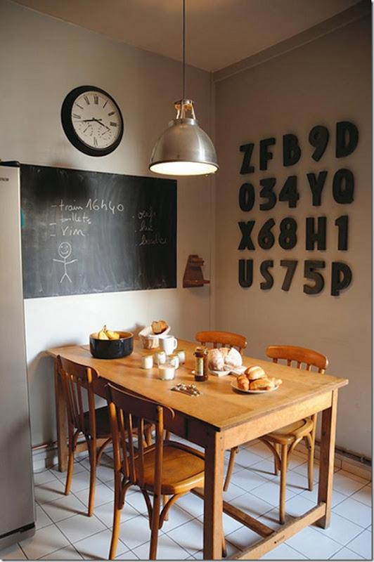 case e interni - decorare con letere e numeri (14)
