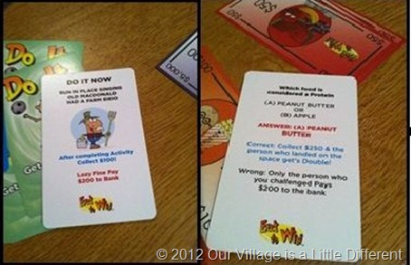 Eat to Win Cards