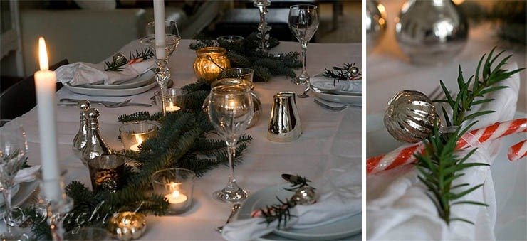 Songbird Christmas Table Setting 18
