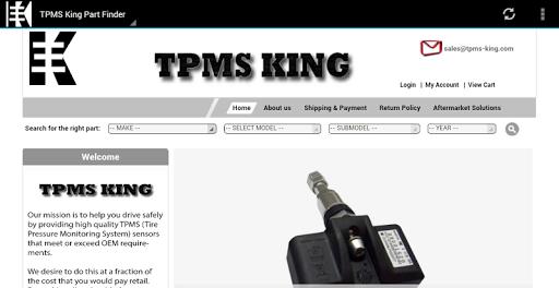 TPMS King Part Finder