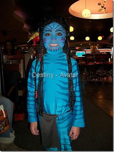 Avatar Disfraz casero y maquillaje