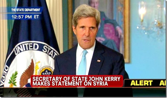 Kerry Declares 'Assad Used Chemical Weapons Multiple Times'