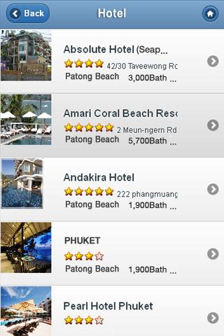Phuket Travel - screenshot