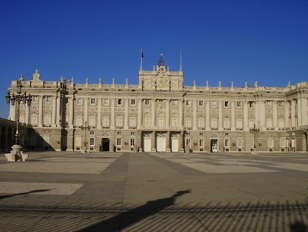 Obiective turistice Madrid: Palatul Regal