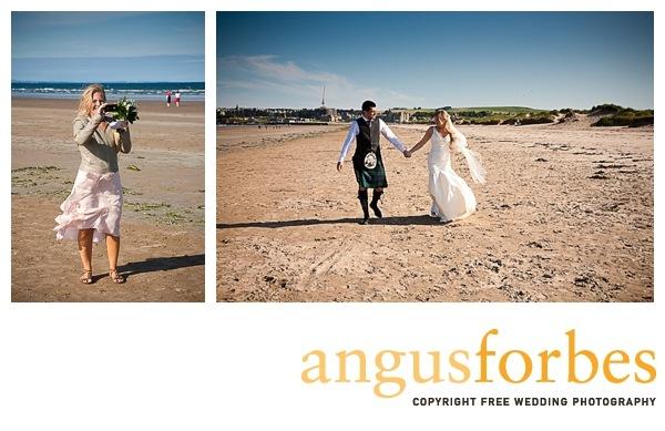 beach wedding Scottish wedding Photographer Dundee_050