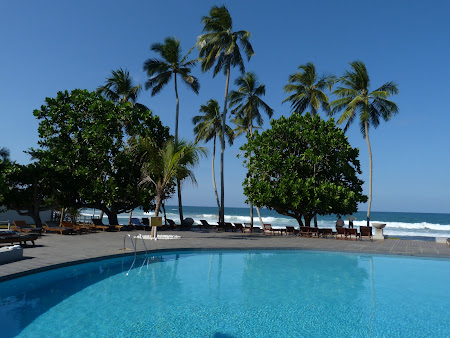Imagini Sri Lanka: piscina Hotel Citrus Hikkaduwa