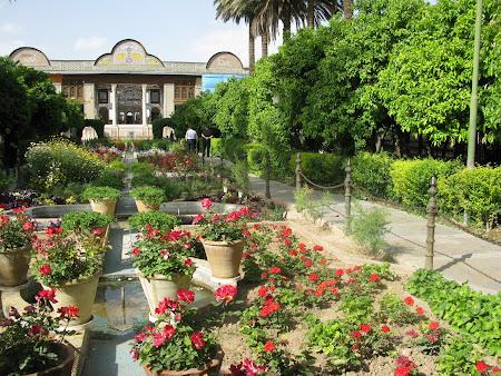 Obiective turistice Iran: Gradina Paradisului Shiraz