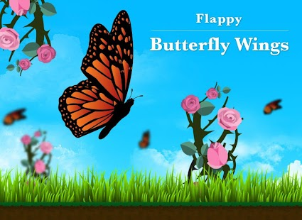 玩免費休閒APP|下載Flappy Butterfly Wings Free app不用錢|硬是要APP