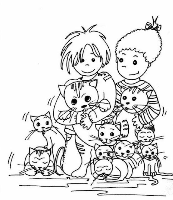 Mascotas Dibujos Para Colorear