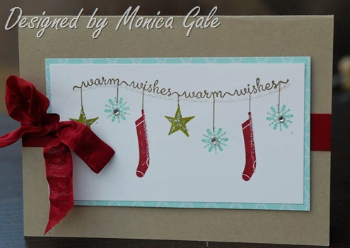 Stampin'Up! Snow day by Monica Gale
