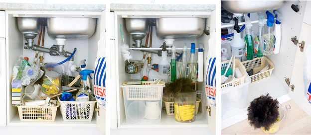 manage your under sink easily