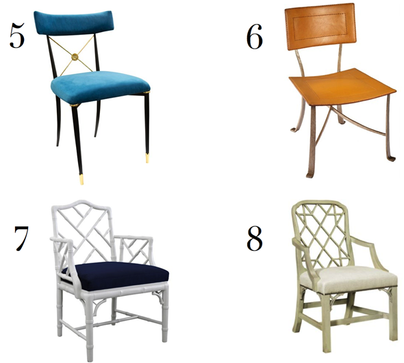 LDV Top 10: Dining Chairs | www.ladolcevitablog.com