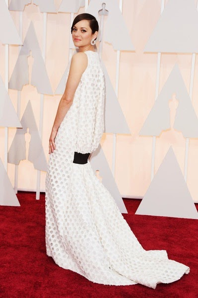 Marion Cotillard attends the 87th Annual Academy Awards