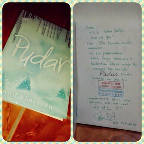 Review Novel Pudar